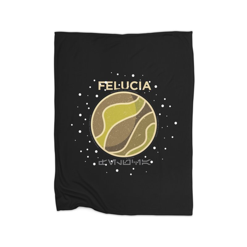 Felucia Home Fleece Blanket by 5eth's Artist Shop