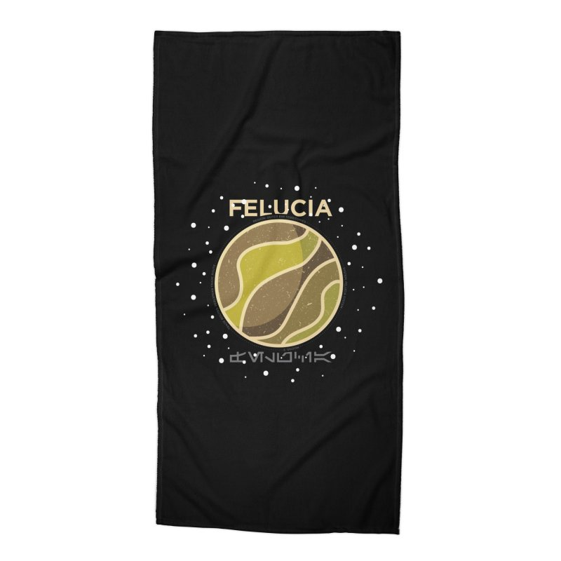 Felucia Accessories Beach Towel by 5eth's Artist Shop