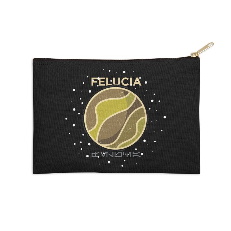 Felucia Accessories Zip Pouch by 5eth's Artist Shop