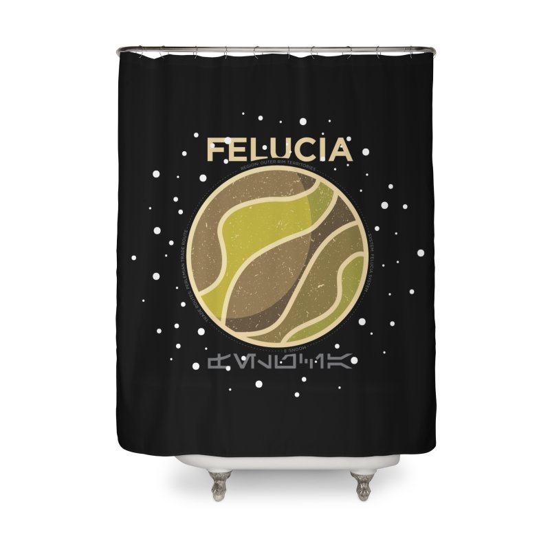 Felucia Home Shower Curtain by 5eth's Artist Shop