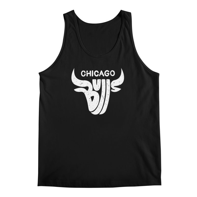 Bulls (White) Men's Tank by 5eth's Artist Shop