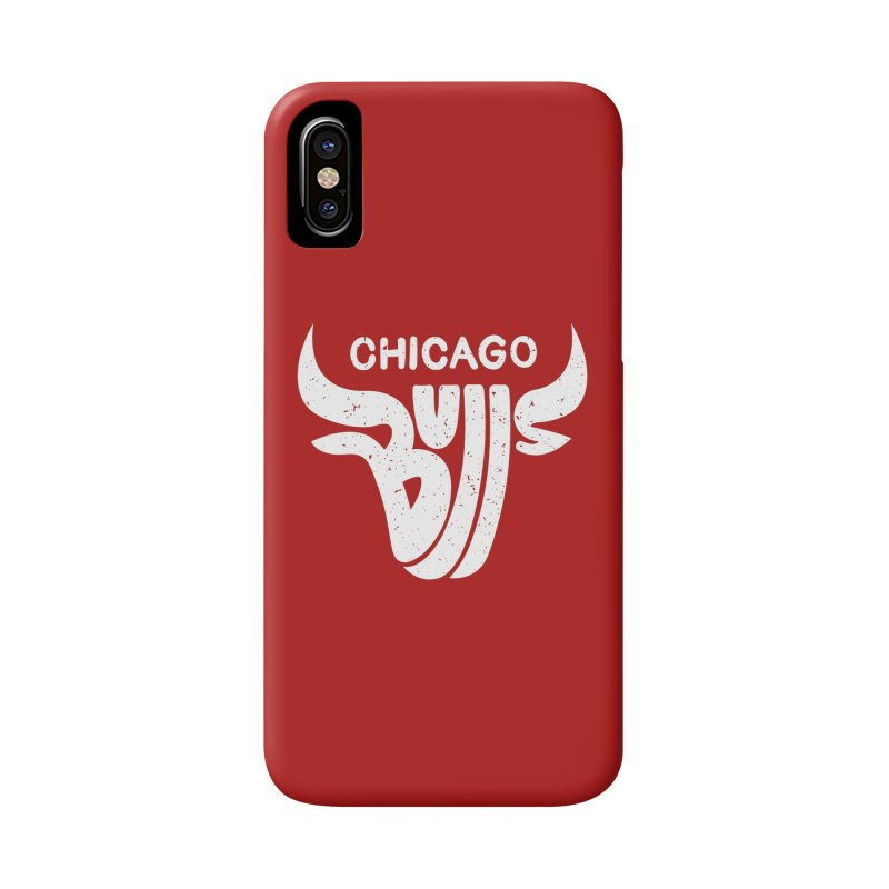 Bulls (White) Accessories Phone Case by 5eth's Artist Shop