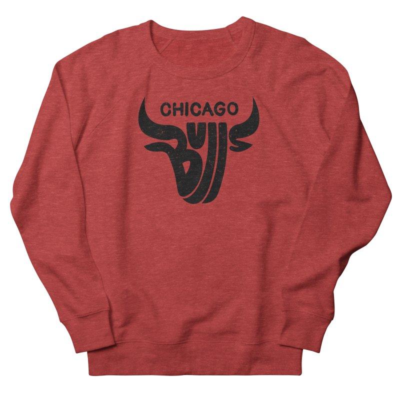 Bulls (Black) Men's Sweatshirt by 5eth's Artist Shop