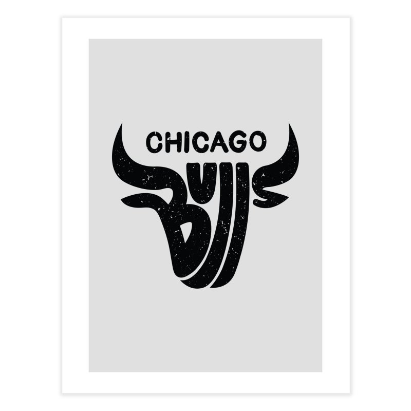 Bulls (Black)   by 5eth's Artist Shop