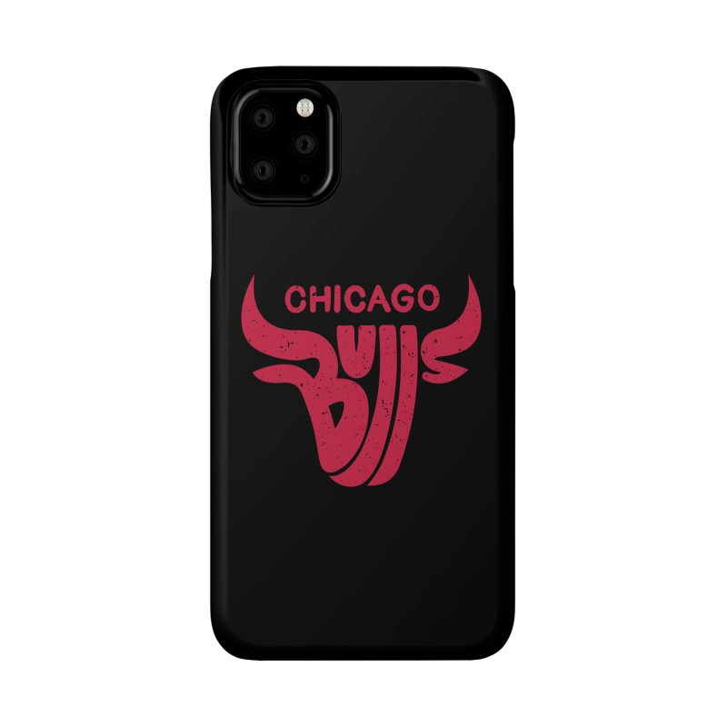 Bulls (Red) Accessories Phone Case by 5eth's Artist Shop