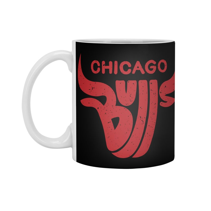 Bulls (Red) Accessories Standard Mug by 5eth's Artist Shop