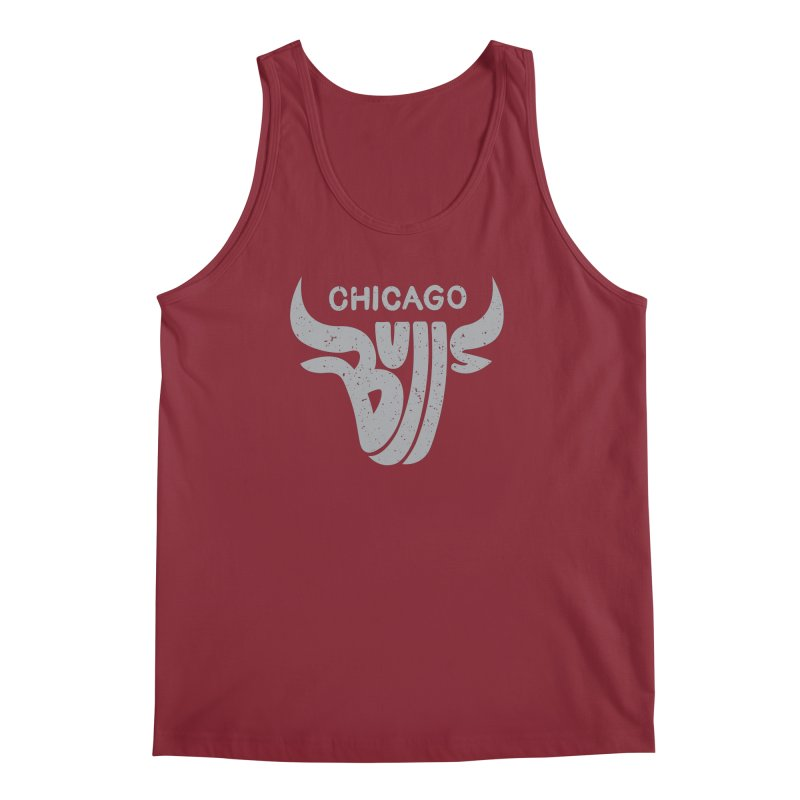 Bulls (Grey) Men's Tank by 5eth's Artist Shop