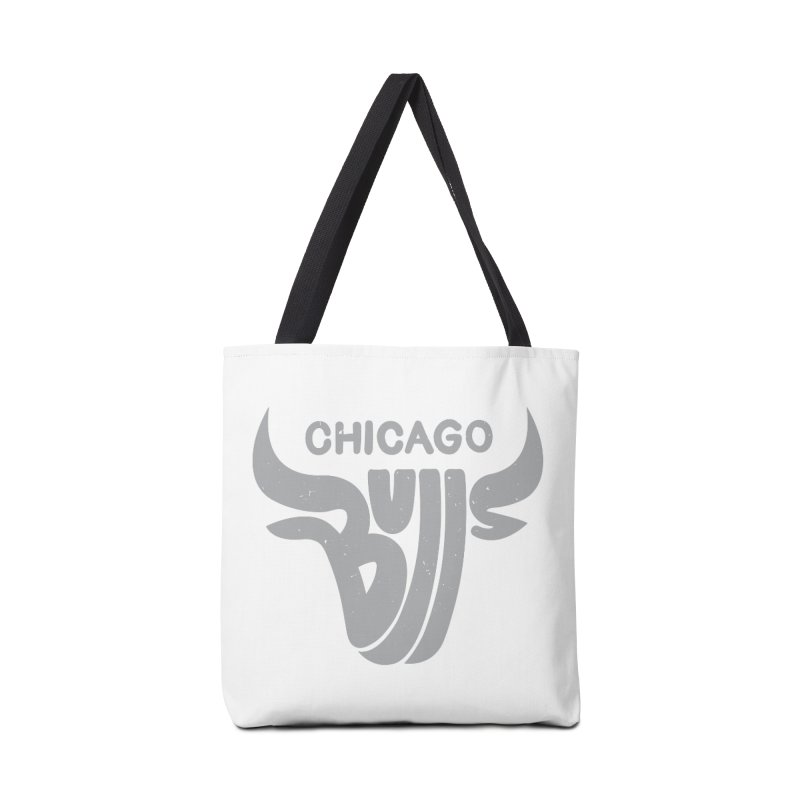 Bulls (Grey) Accessories Bag by 5eth's Artist Shop