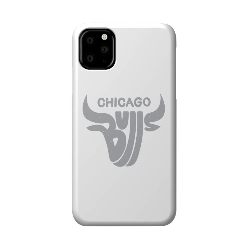 Bulls (Grey) Accessories Phone Case by 5eth's Artist Shop
