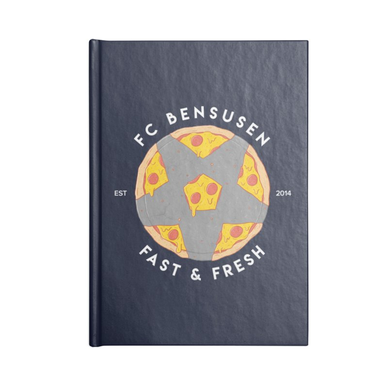 FC Bensusen Accessories Lined Journal Notebook by 5eth's Artist Shop