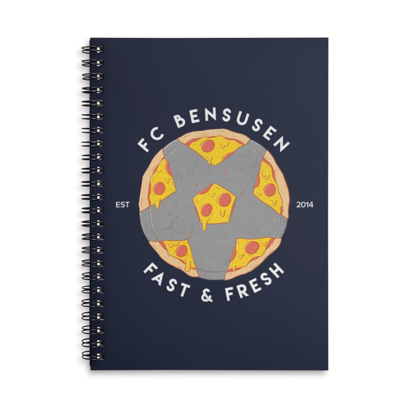 FC Bensusen Accessories Lined Spiral Notebook by 5eth's Artist Shop