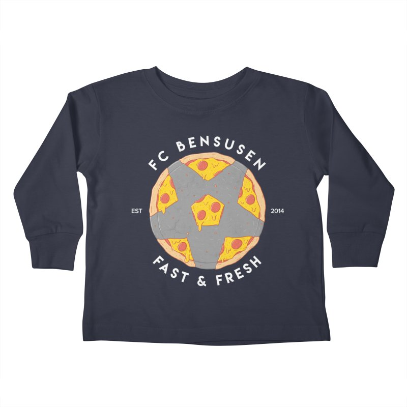 FC Bensusen Kids Toddler Longsleeve T-Shirt by 5eth's Artist Shop