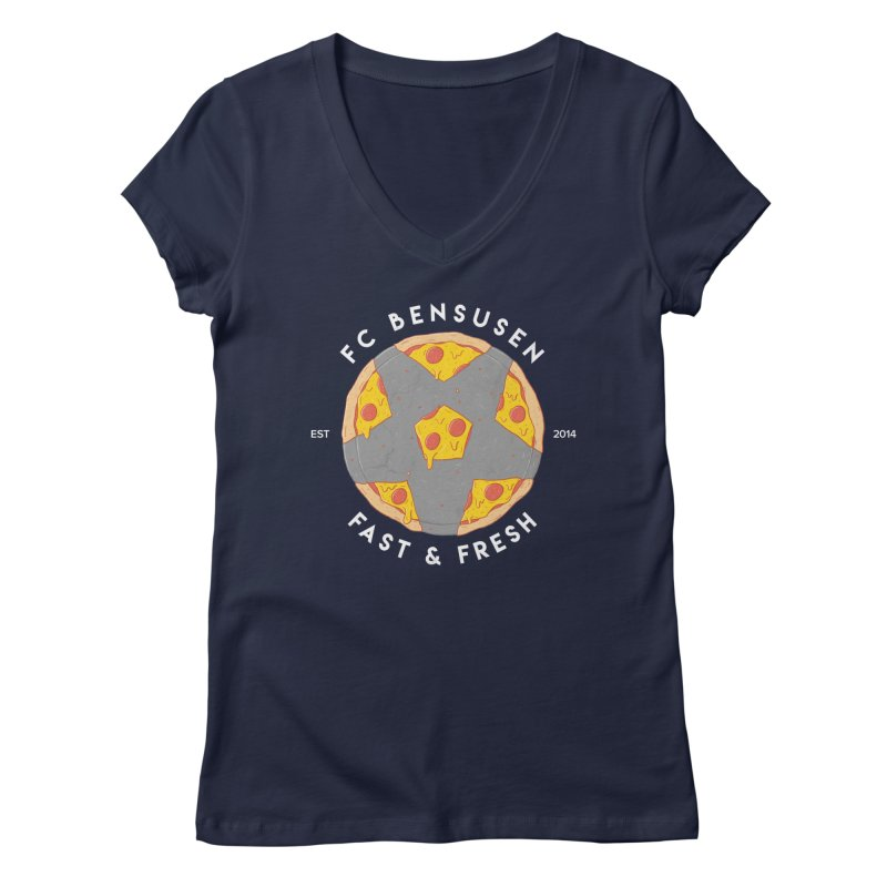 FC Bensusen Women's V-Neck by 5eth's Artist Shop