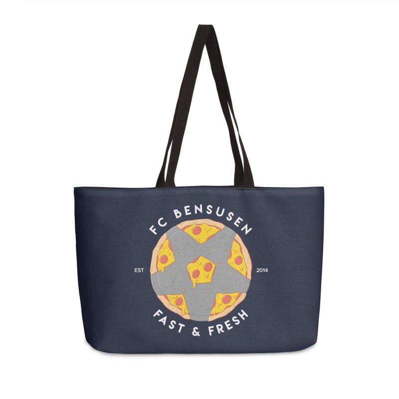 FC Bensusen Accessories Weekender Bag Bag by 5eth's Artist Shop