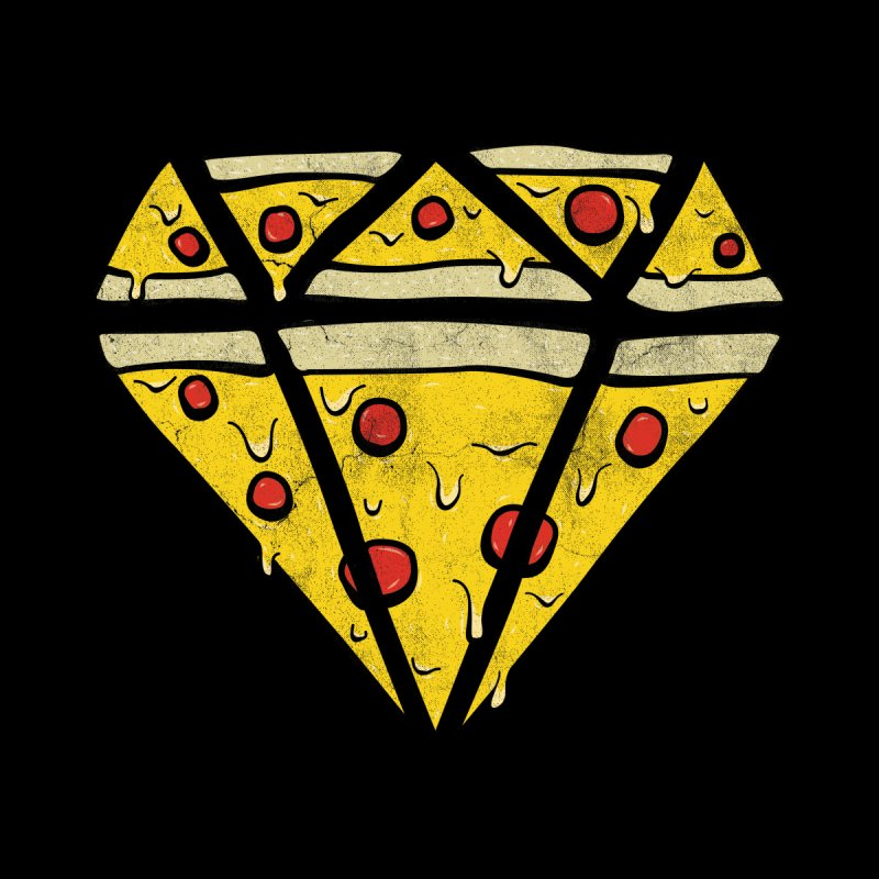 Pizzas Are Forever Women's Fitted T-Shirt by 5eth's Artist Shop