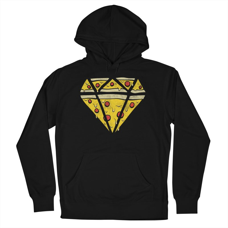 Pizzas Are Forever Men's French Terry Pullover Hoody by 5eth's Artist Shop