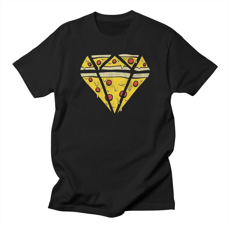 Pizzas Are Forever Men's T-shirt by 5eth's Artist Shop