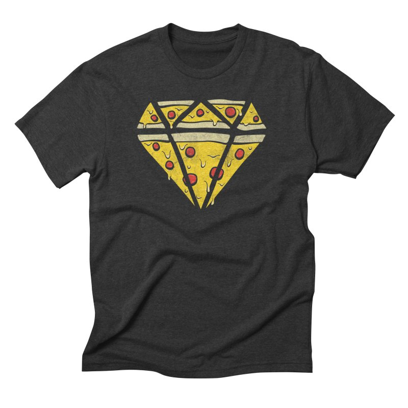 Pizzas Are Forever Men's Triblend T-shirt by 5eth's Artist Shop