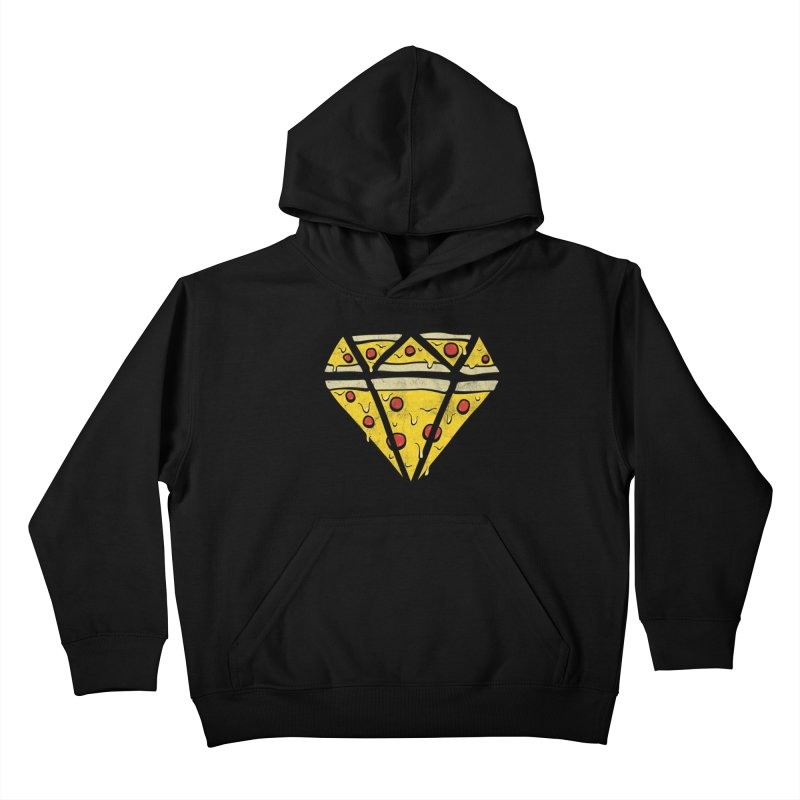 Pizzas Are Forever Kids Pullover Hoody by 5eth's Artist Shop