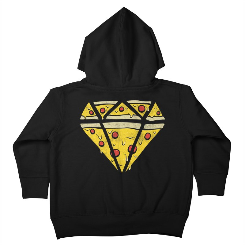 Pizzas Are Forever Kids Toddler Zip-Up Hoody by 5eth's Artist Shop
