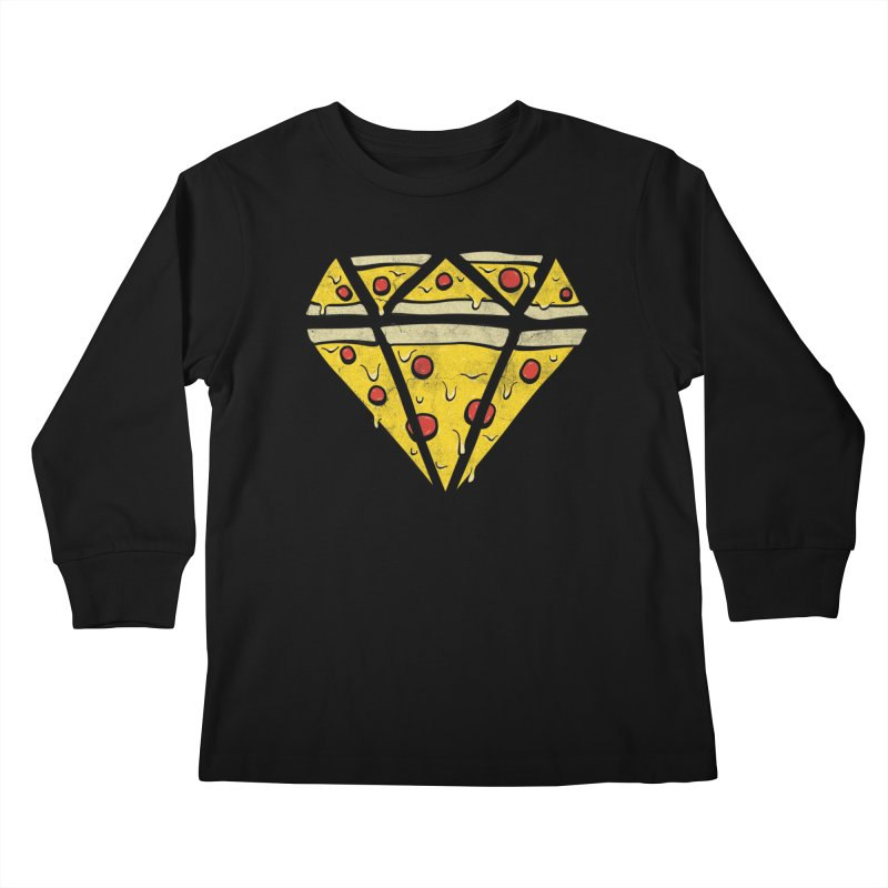 Pizzas Are Forever Kids Longsleeve T-Shirt by 5eth's Artist Shop