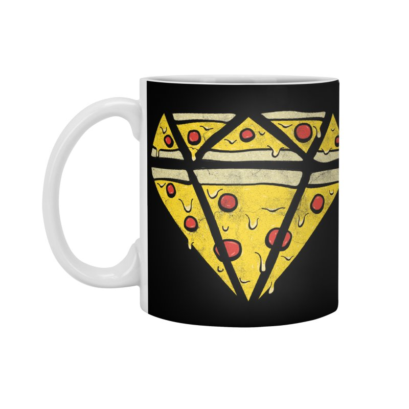 Pizzas Are Forever Accessories Standard Mug by 5eth's Artist Shop