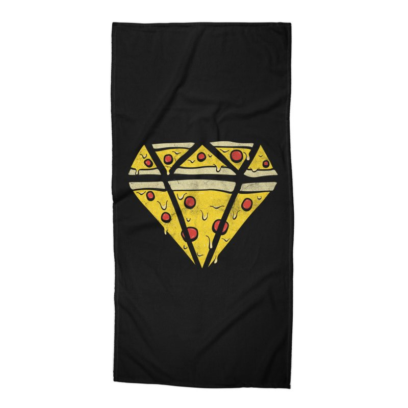 Pizzas Are Forever Accessories Beach Towel by 5eth's Artist Shop