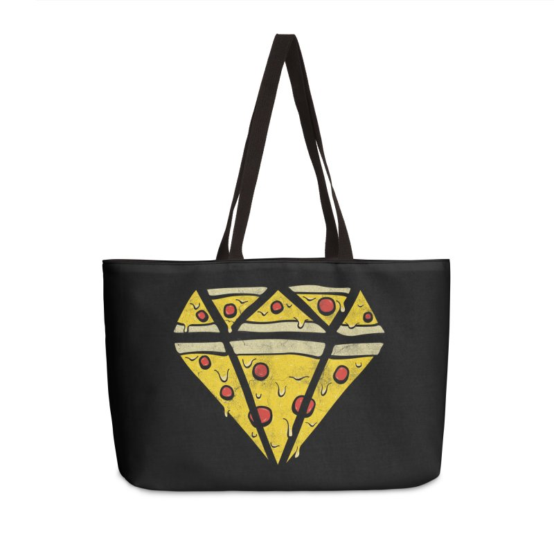 Pizzas Are Forever Accessories Weekender Bag Bag by 5eth's Artist Shop
