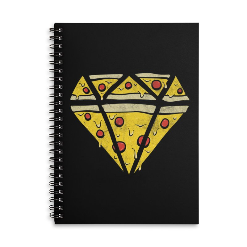 Pizzas Are Forever Accessories Lined Spiral Notebook by 5eth's Artist Shop
