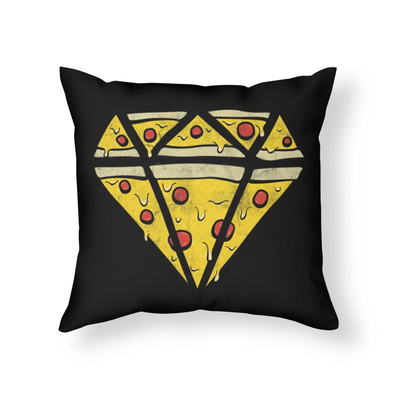 Pizzas Are Forever Home Throw Pillow by 5eth's Artist Shop