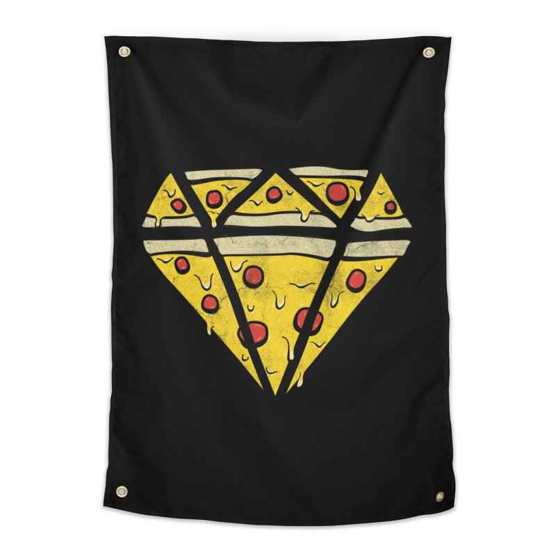 Pizzas Are Forever Home Tapestry by 5eth's Artist Shop