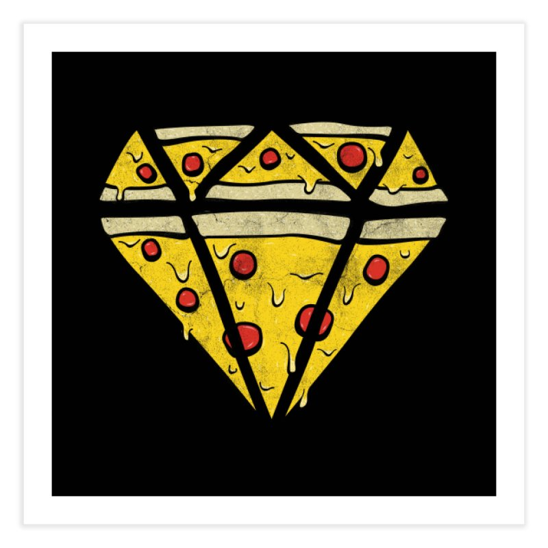 Pizzas Are Forever Home Fine Art Print by 5eth's Artist Shop