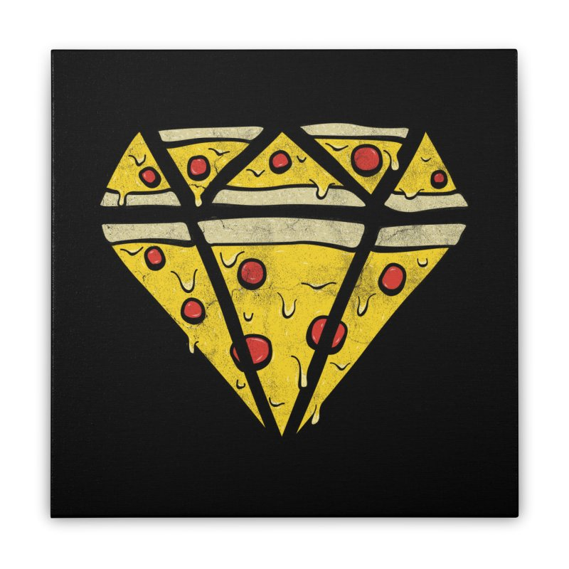 Pizzas Are Forever Home Stretched Canvas by 5eth's Artist Shop