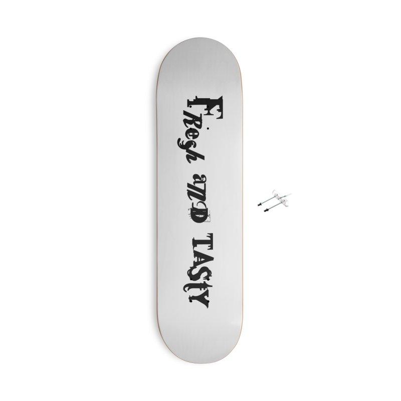 fresh and tasty Accessories Skateboard by 600poundgorilla's Artist Shop