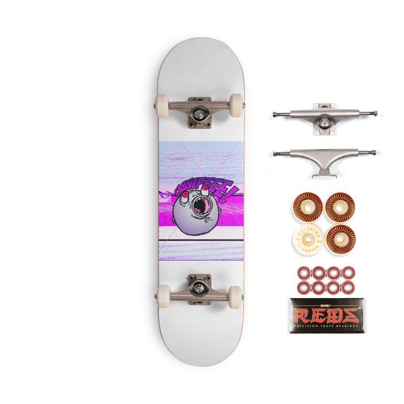 CAAWFEEE ! Accessories Skateboard by 600poundgorilla's Artist Shop