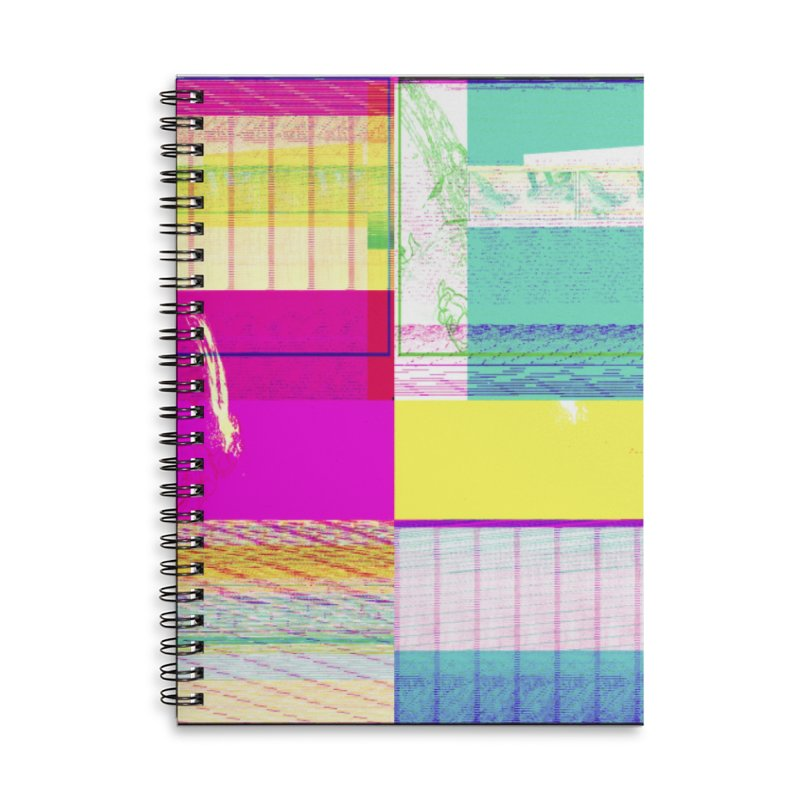 Synesthetic Accessories Notebook by 600poundgorilla's Artist Shop