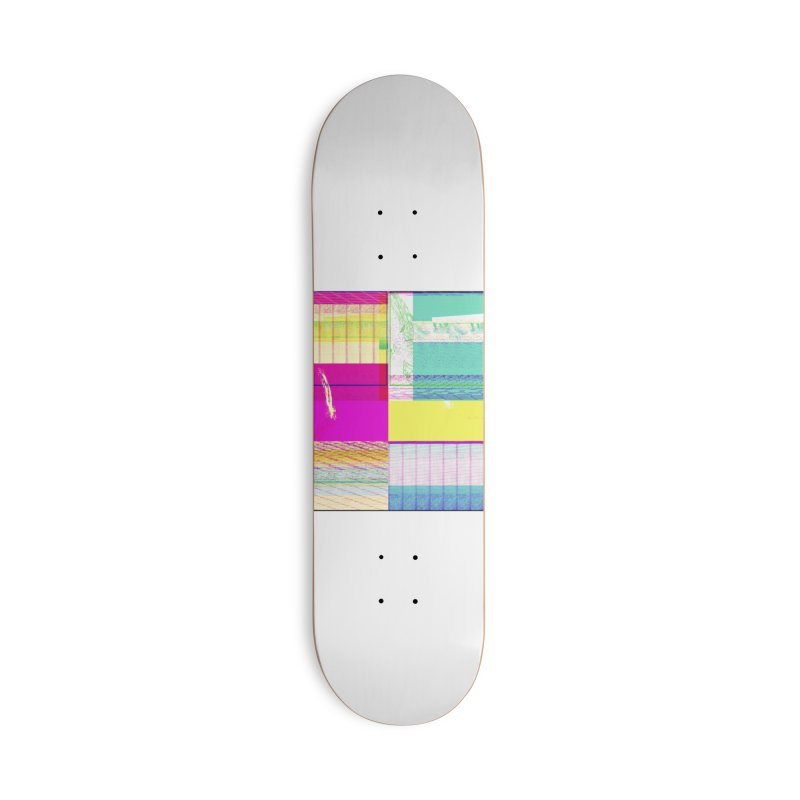 Synesthetic Accessories Skateboard by 600poundgorilla's Artist Shop