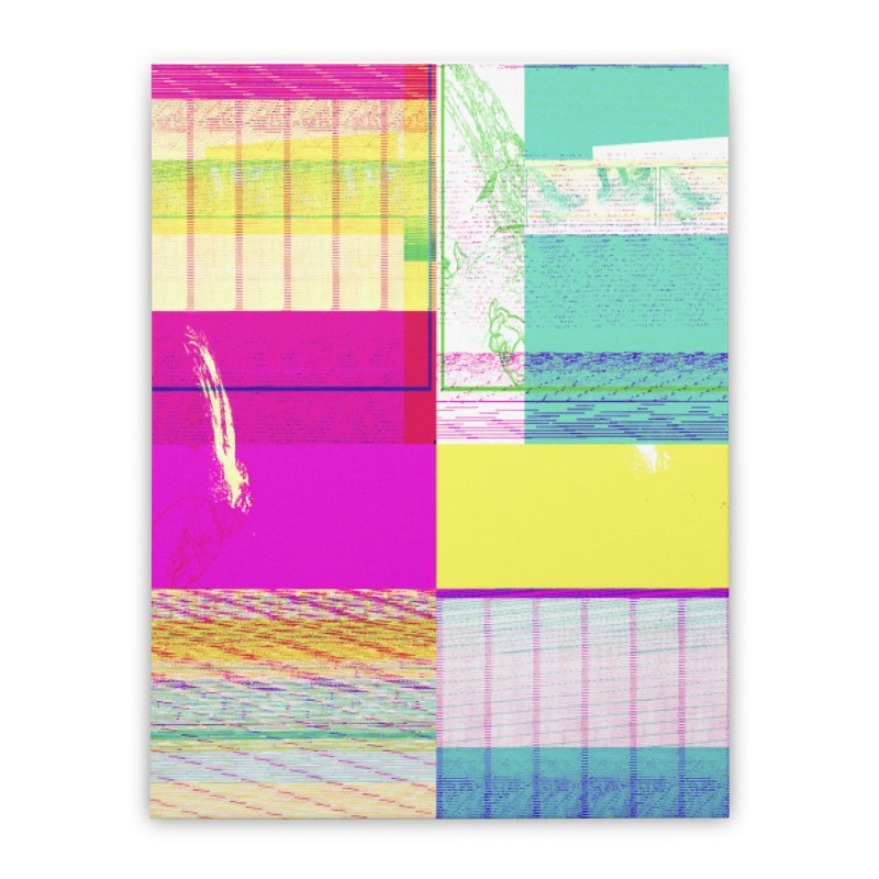 Synesthetic Home Stretched Canvas by 600poundgorilla's Artist Shop
