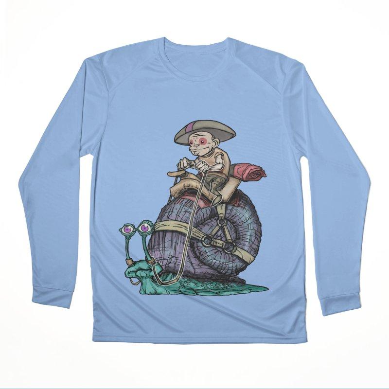 Slow Ride Women's Longsleeve T-Shirt by 600poundgorilla's Artist Shop