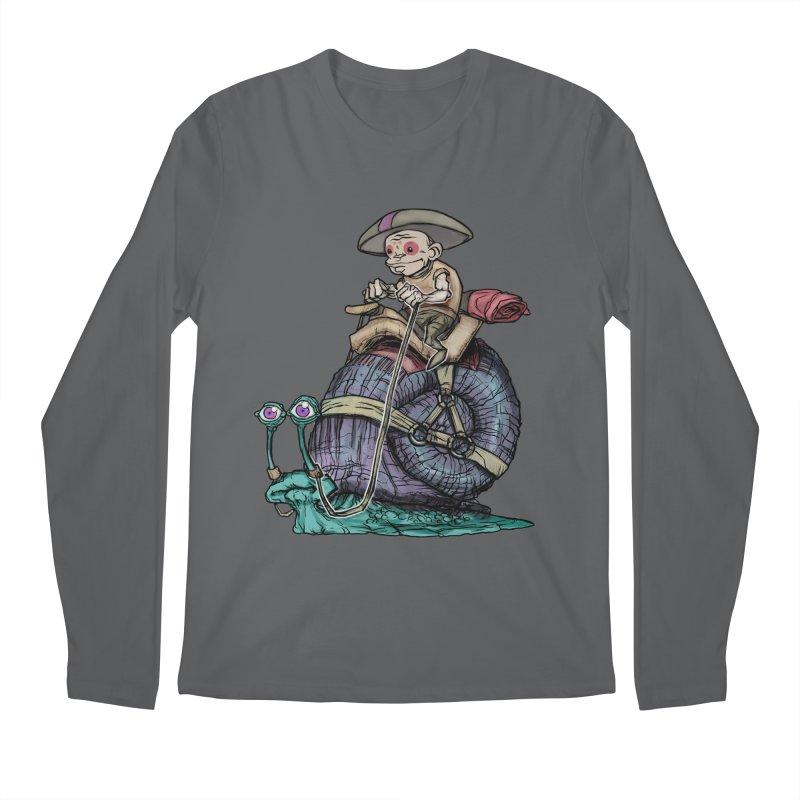 Slow Ride Men's Longsleeve T-Shirt by 600poundgorilla's Artist Shop