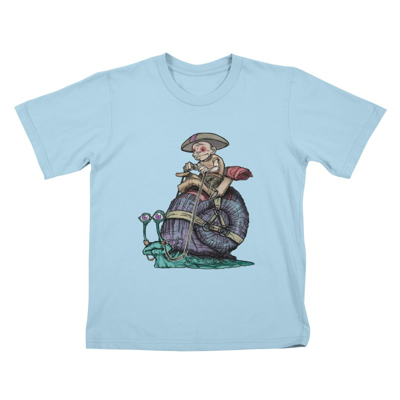 Slow Ride Kids T-Shirt by 600poundgorilla's Artist Shop