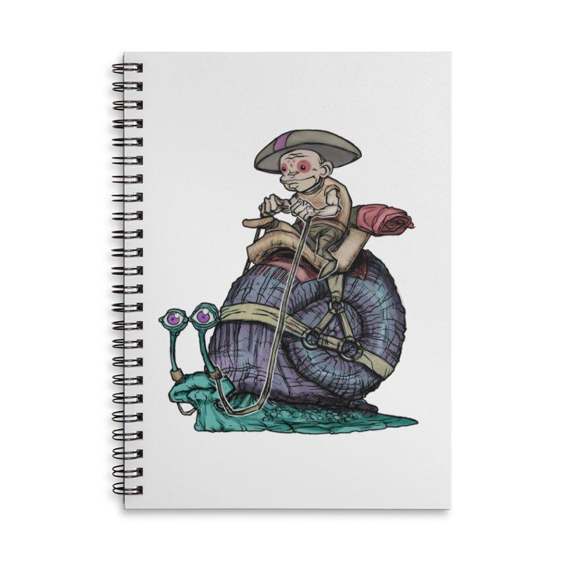 Slow Ride Accessories Notebook by 600poundgorilla's Artist Shop