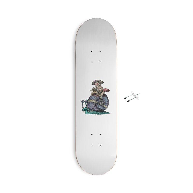 Slow Ride Accessories Skateboard by 600poundgorilla's Artist Shop