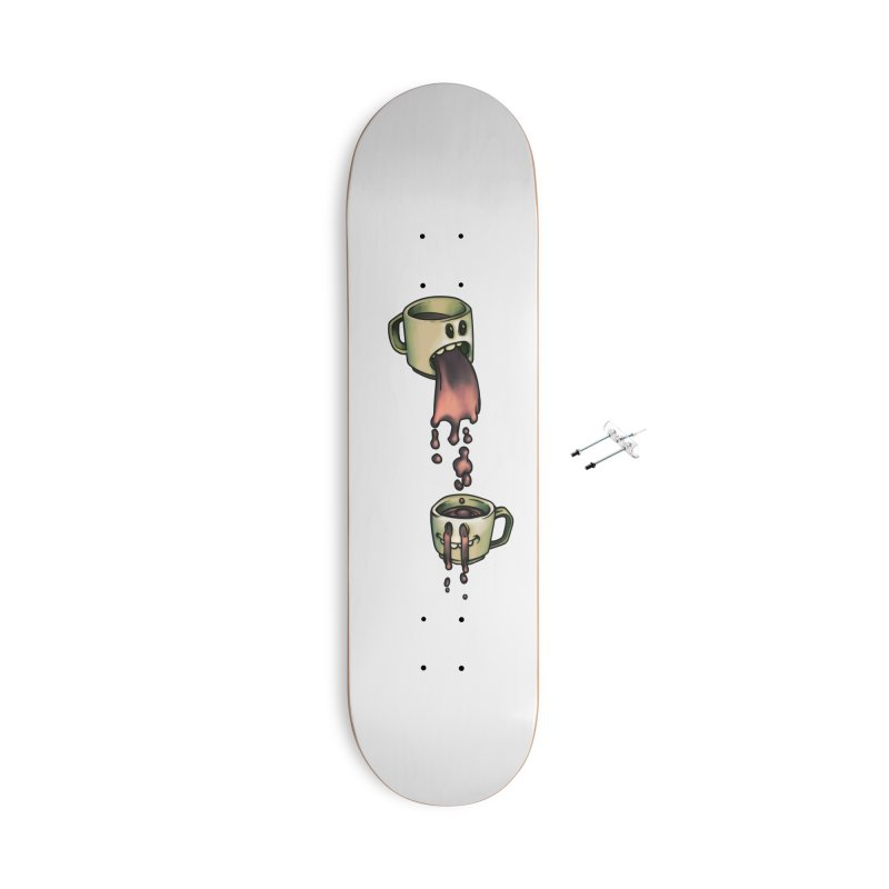 Froosh Cawfee Accessories Skateboard by 600poundgorilla's Artist Shop