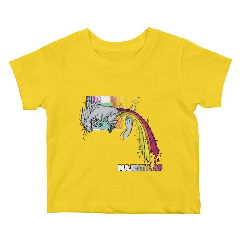 Majestic AF Kids Baby T-Shirt by 600poundgorilla's Artist Shop