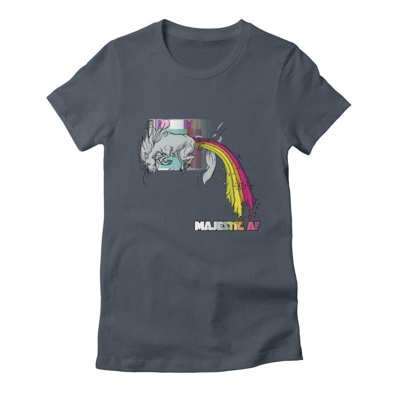 Majestic AF Women's T-Shirt by 600poundgorilla's Artist Shop