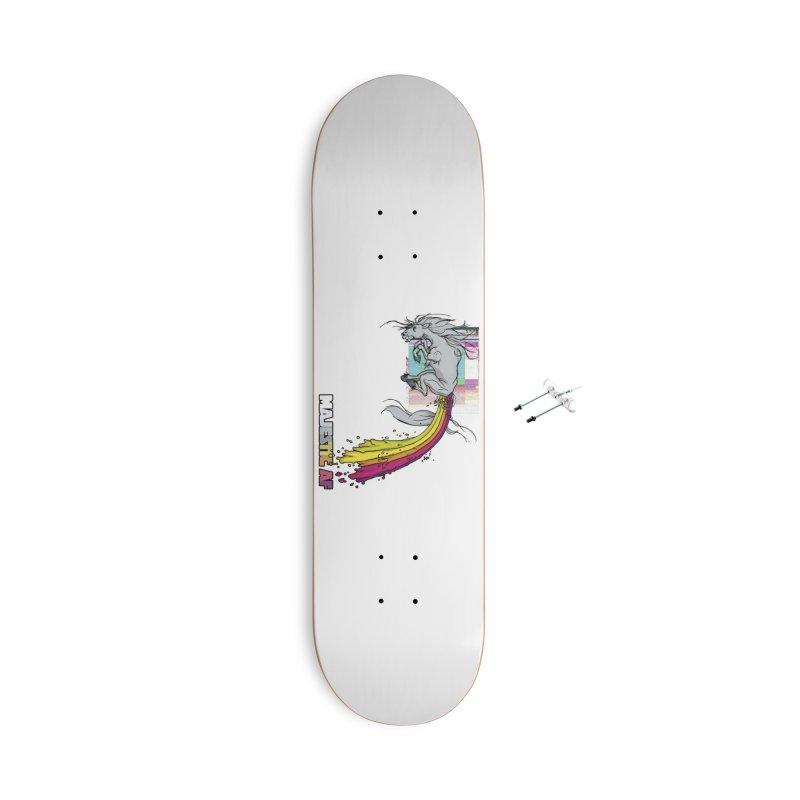Majestic AF Accessories Skateboard by 600poundgorilla's Artist Shop
