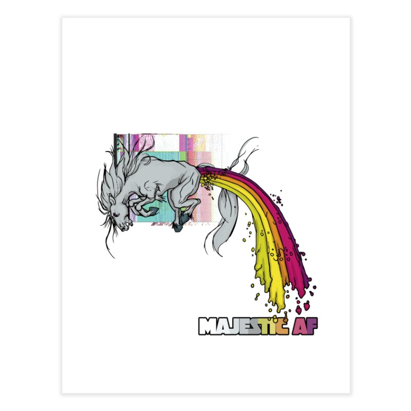 Majestic AF Home Fine Art Print by 600poundgorilla's Artist Shop