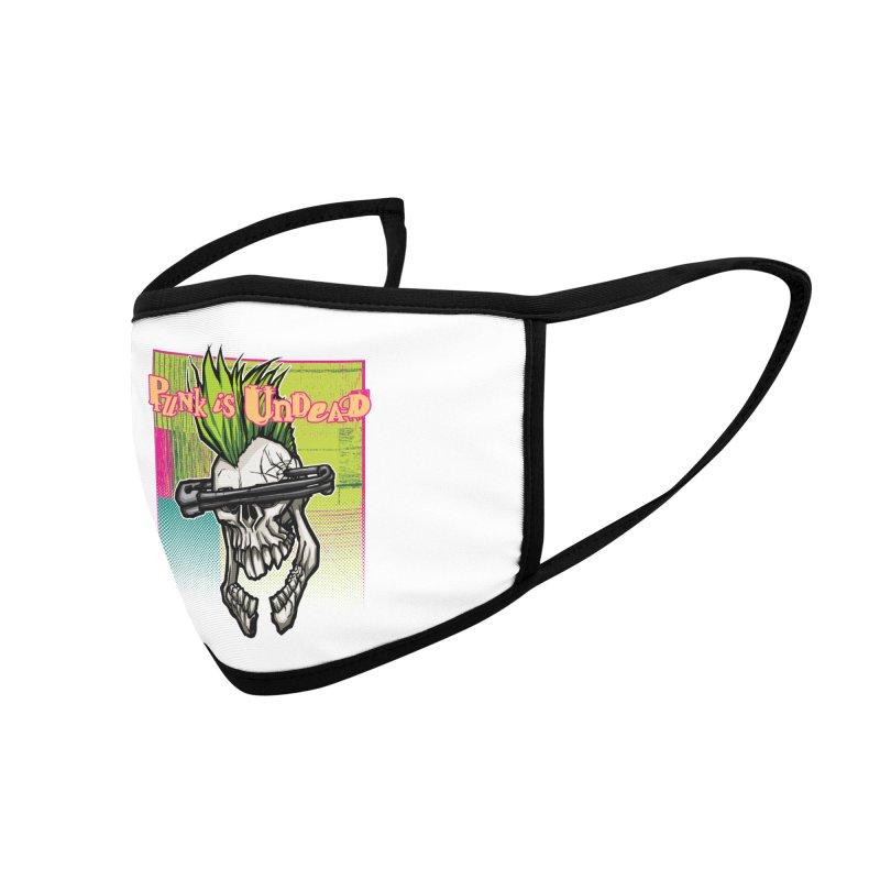 Punk is Undead Accessories Face Mask by 600poundgorilla's Artist Shop