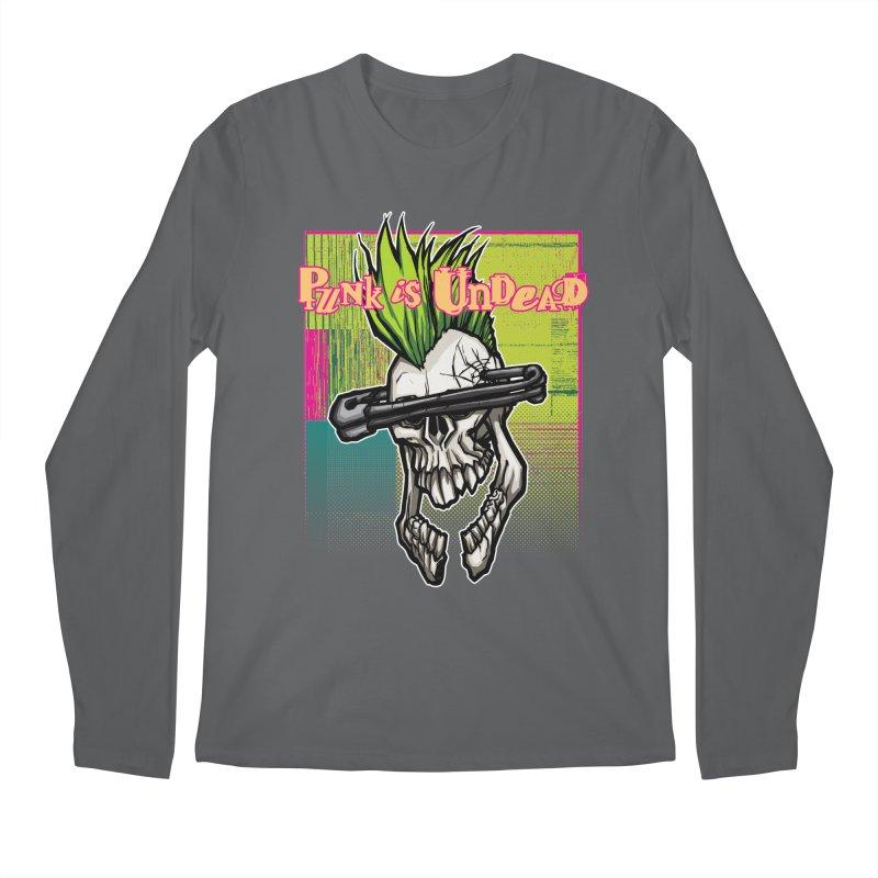 Punk is Undead Men's Longsleeve T-Shirt by 600poundgorilla's Artist Shop